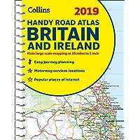 2019 Collins Handy Road Atlas Britain
