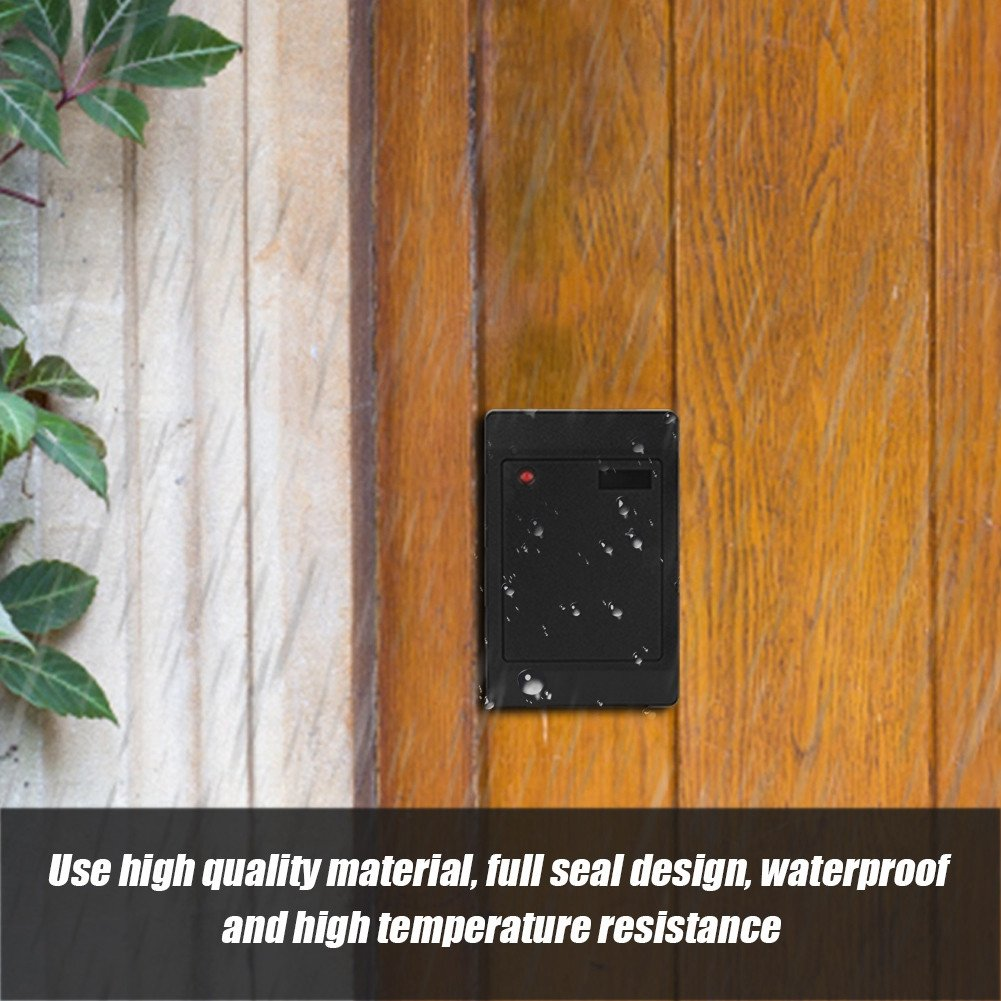 Richer-R High sensitivity, Low working current and High performance IC/ID RFID Card Waterproof Reader for Home Door Access Control