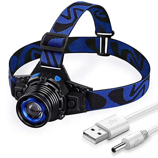 Review LED Headlamp Rechargeable via