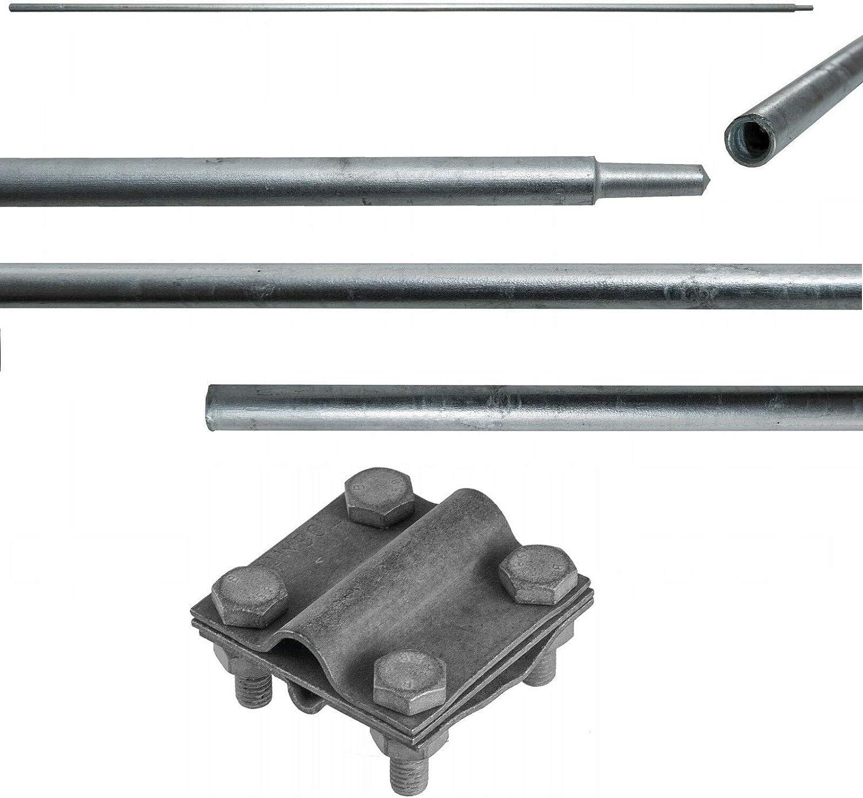 20mm SDS MAX Schlagkopf Komplett Tiefenerder Staberder Erdung Erder Ø 18