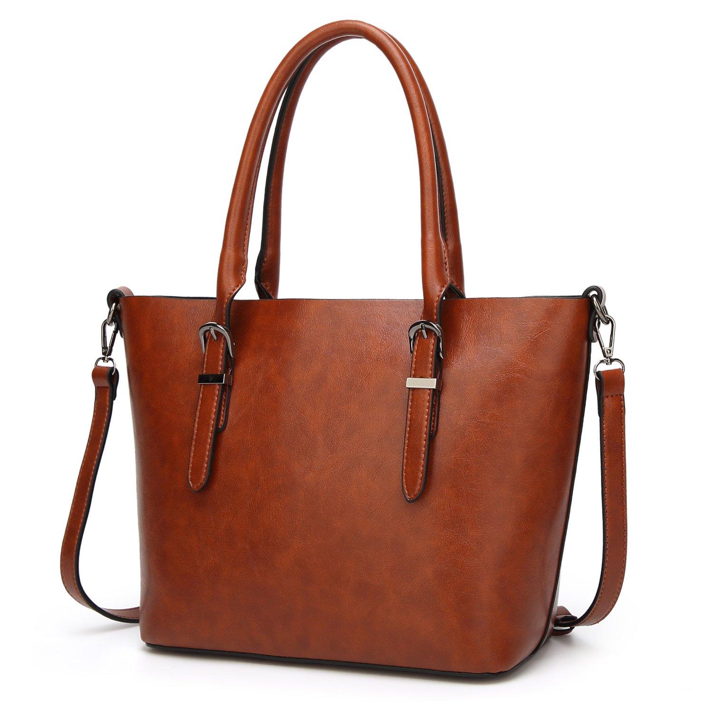 aa7f6d6b31 Carqi women handbags leather satchel purse for teen girls shoulder  crossbody bags home kitchen jpg 1500x1500