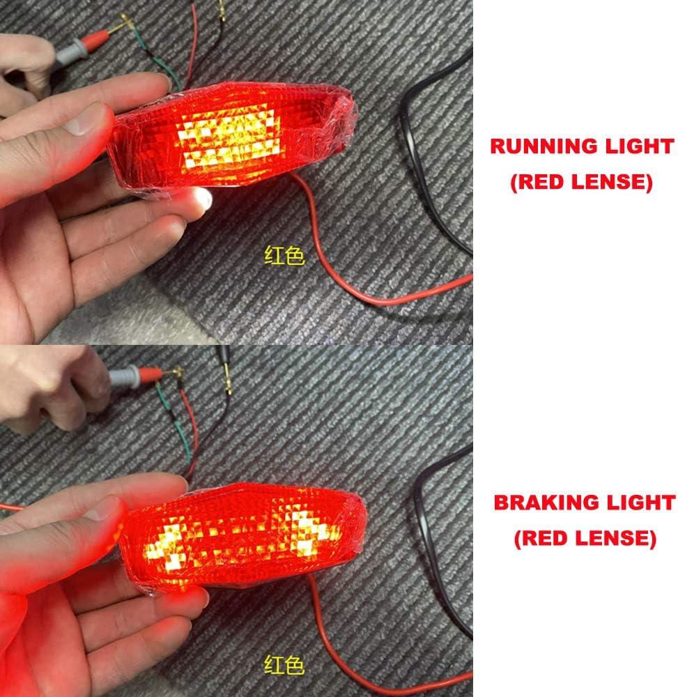 Red Xitomer DUKE 790 Tail Tidy Fender Eliminator for KTM DUKE 790 2018 2019 2020//890 Duke R Compatible with OEM and Aftermarket Blinker 2020 with LED Tail light//License Plate Light