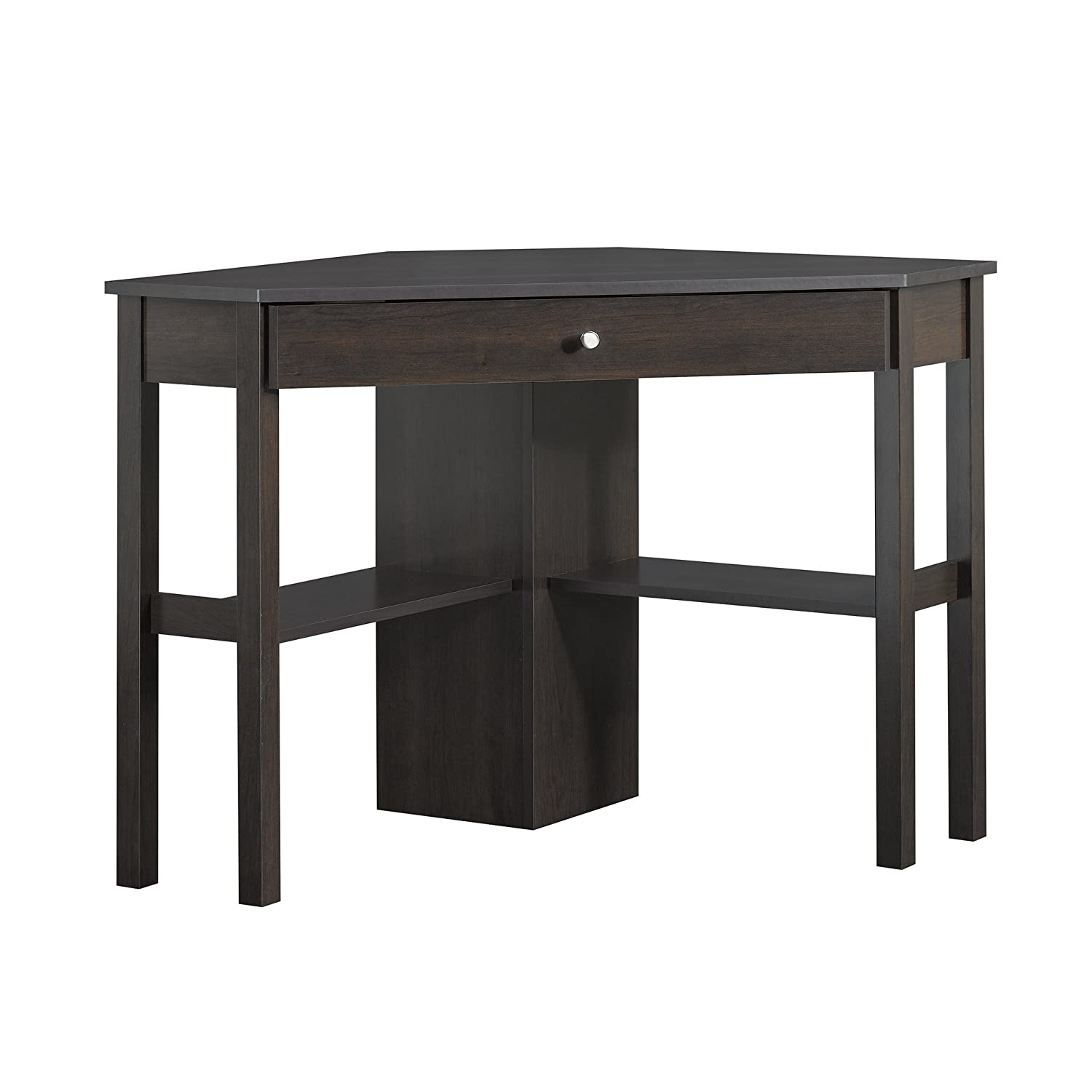 Sauder Beginnings Corner Computer Desk, Cherry 412314