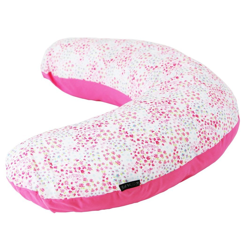 Maternity Pregnancy Breast Feeding Pillow + Pillow Case (Bed of Roses) iSafe