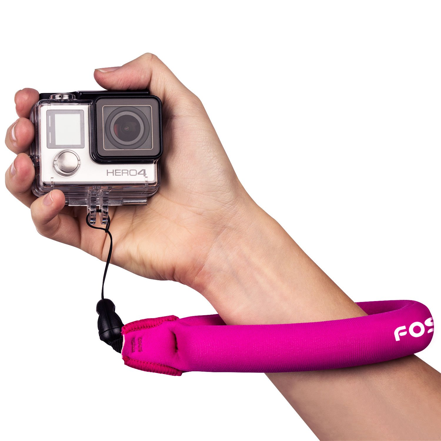 Fosmon Universal Floating Wrist Strap for Underwater Camera, Phone, Keys and More (Pink) Fosmon Technology A1694