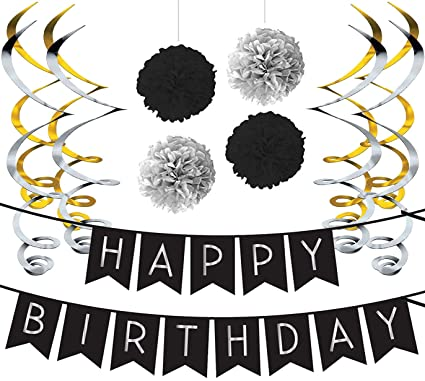 Paquete para Fiesta de Cumpleaños - Paquete con Banderín de ...