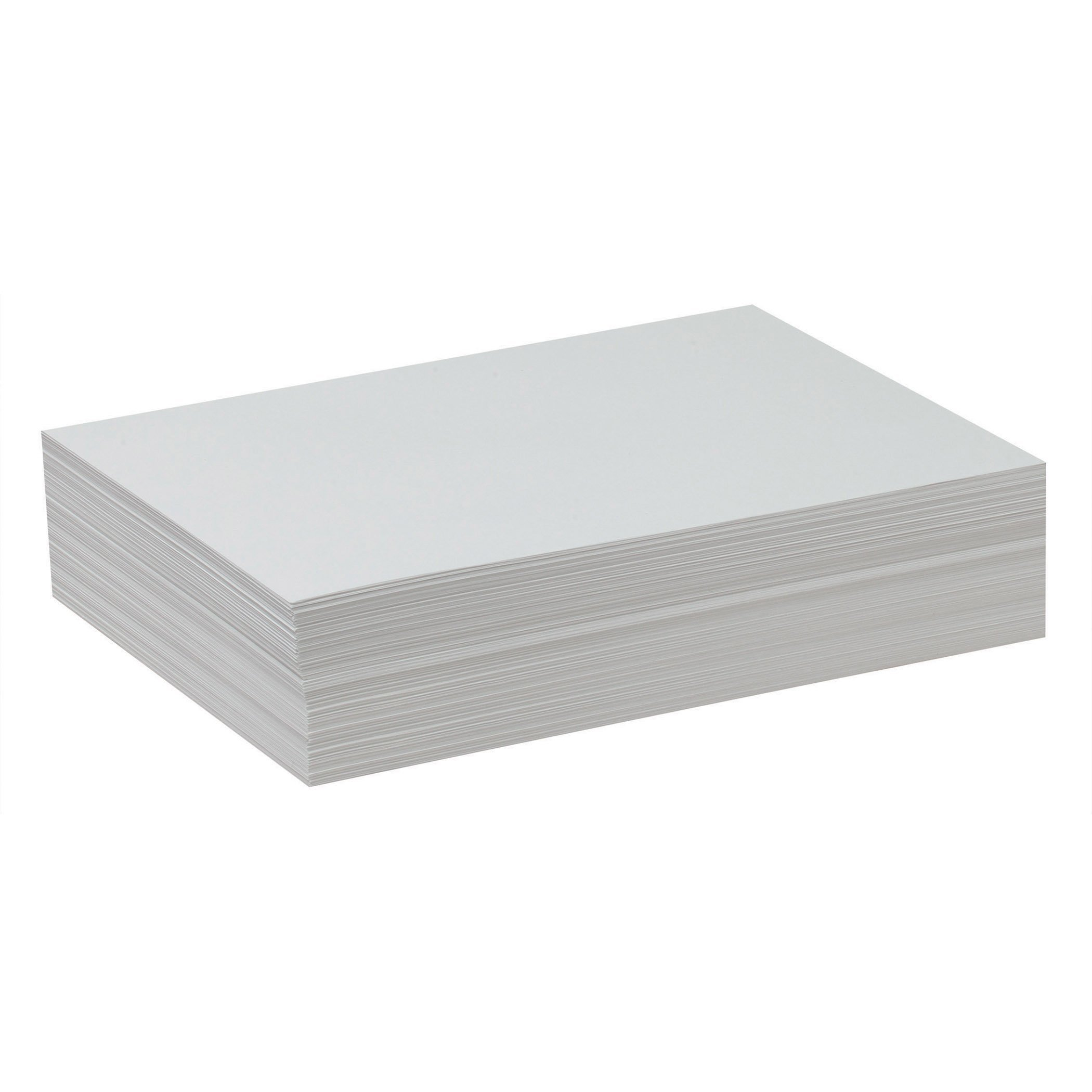 Pacon PAC4739BN Drawing Paper, White, Lightweight, 9'' x 12'', 500 Sheets Per Pack, 2 Packs