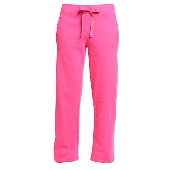 Pink fleece sweatpants