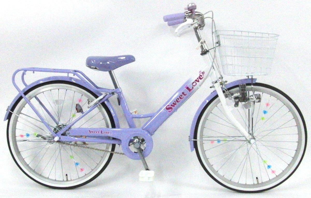C.Dream(シードリーム) スイートラブ SW01 20インチ 子供自転車 ラベンダー 100%組立済み発送 B07D755KCW