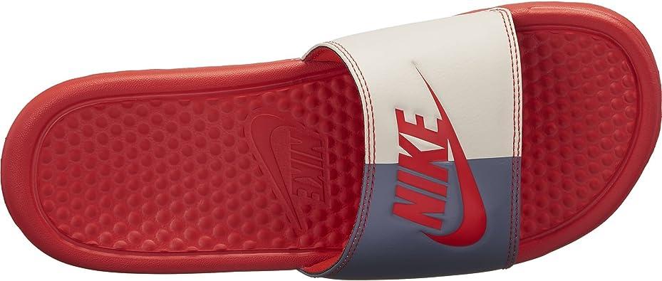 "Nike Benassi JDI Just Do It ""Habanero Red"", Chanclas De ..."