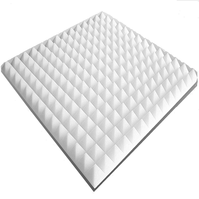100x50x3cm Pyra 3100 Verpackungseinheit = 2 Platten = ca. 1 m/² ca Weiss