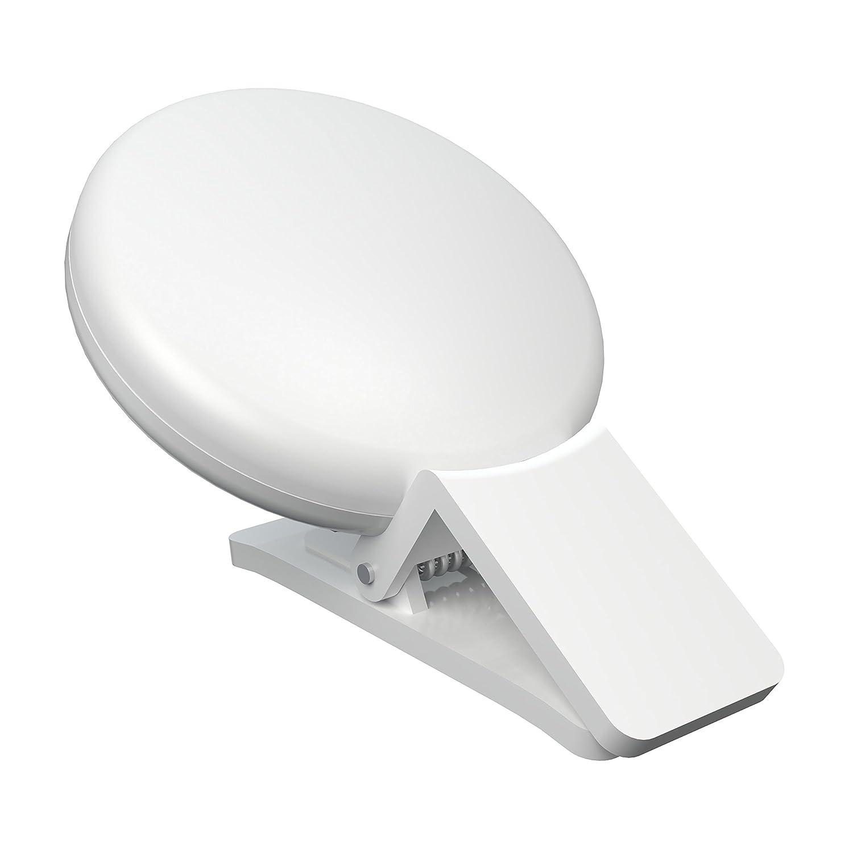 luz led para celular Xenvo GlowClip, blanco