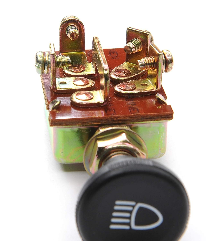 AMNEN Universal Headlight Switch//Push-Pull Switch 3 Positions AM-710