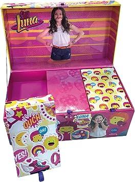 Soy Luna - Maletín Fantasía artístico Deluxe (CIFE 40500): Amazon.es: Juguetes y juegos