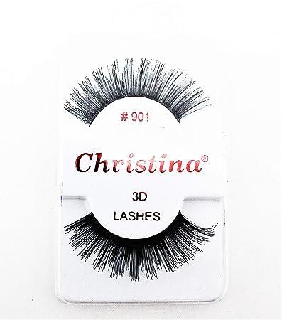 d0f54ec95eb Amazon.com: CHRISTINA 3D Premium Quality False Eyelashes Set for ...