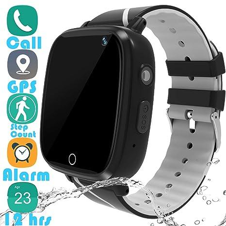 Amazon.com: YENISEY - Reloj inteligente para niños con ...