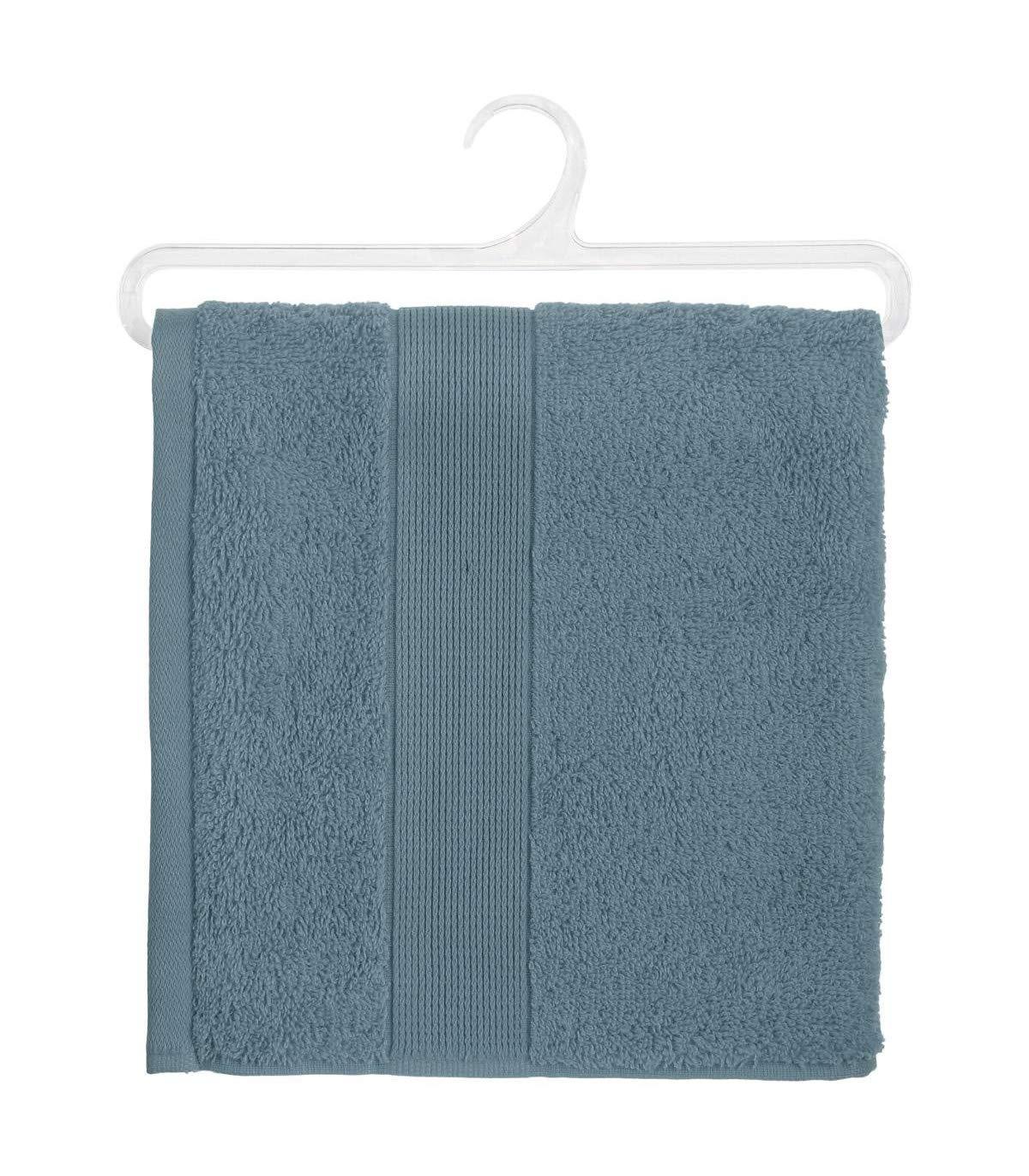 Atmosphera Serviette Bleu Orage 50 x 90 cm