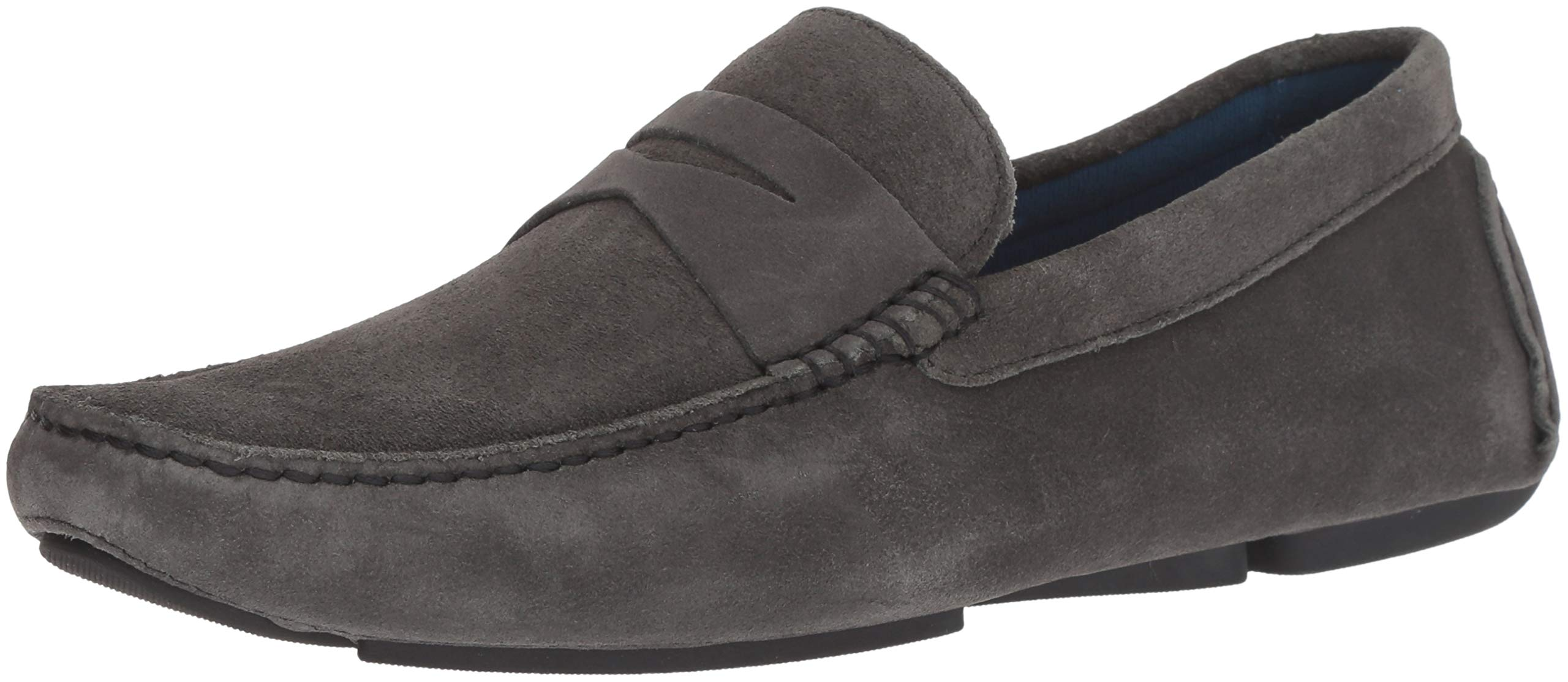 Donald J Pliner Men's VARRAN2-OL Loafer, Dark Gray, 10.5 D US