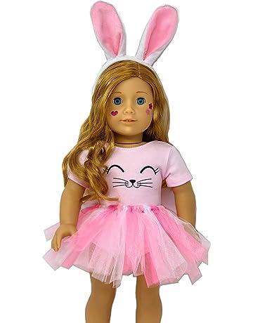 adf1eeb55666 Genius Dolls Bunny Doll Clothes. Fits 18 inch Dolls Like Our Generation Doll  My Life