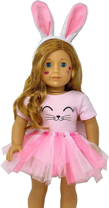 Amazon.com: Mi ropa de muñeca de conejo de muñecas Genius ...