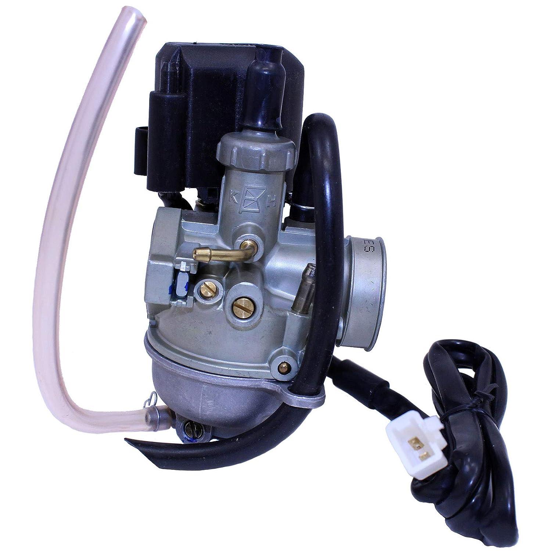 GLENPARTS Carburetor for Honda SA50 ELITE 1987 1988 1989 1990-2001 SA 50 SK-50 AF-28 DD-50