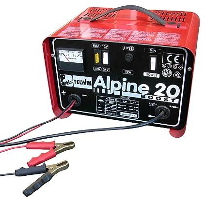 Eufab 16535 Alpine 20 - Cargador para baterías de coche ...