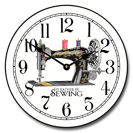 amazon sewing room wall clock available in 8 sizes most sizes 1970 Chevy Truck amazon sewing room wall clock available in 8 sizes most sizes ship 2 3 days whisper quiet home kitchen