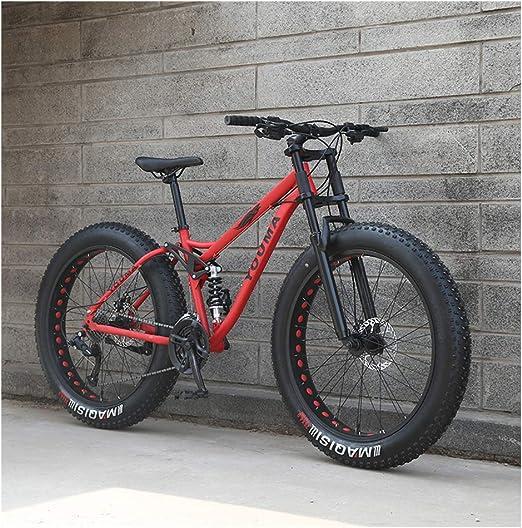 NENGGE 26 Pulgadas Bicicleta Montaña, Adulto Niña Muchachos Full ...
