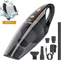 LOFTEK Car Vacuum Cordless - Handheld Portable Car Vacuum Cleaner with High Power Professional Vacuum for Car - Wet&Dry Use