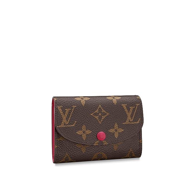 Louis Vuitton Rosalie Coin Purse Monogram Canvas (Fuchsia ...