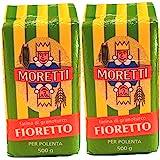 Moretti Polenta Fine | Fioretto - 500g (2 Pack)