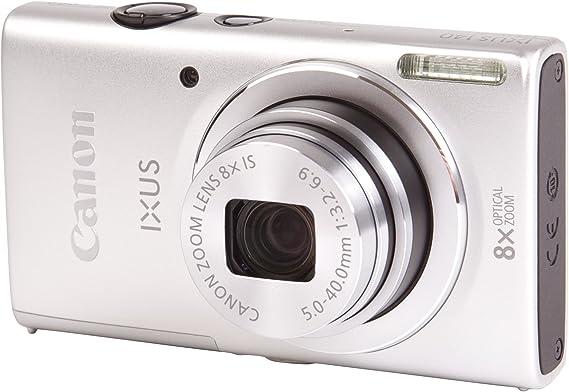 Canon Ixus 140 Digitalkamera 3 Zoll Silber Kamera
