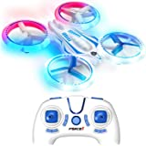 Force1 UFO 4000 LED Mini Drone for Kids - Remote Control Drone, Small RC Quadcopter for Beginners with LEDs, 4-Channel Remote