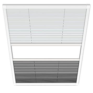 1plus Fliegengitter Plissee Fur Dachfenster Insektenschutz