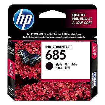 Hp 685 black ink cartridge amazon computers accessories hp 685 black ink cartridge fandeluxe Gallery