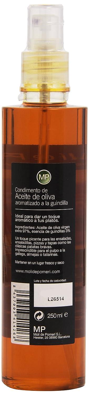 Molí de Pomeri - Condimento de aceite de oliva automatizado a la guindilla - 250 g: Amazon.es: Alimentación y bebidas