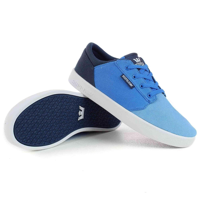 Supra , Herren Skateboardschuhe Blau Blau Fade Weiß