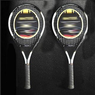 Racchetta Da Tennis Racchetta Da Tennis Professionale Di Alta Qualità Doppio Doppio Tiro Set Allenamento Pratica Ultra Leggero In Carbonio