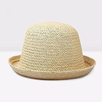44da78d42d4 SSBY Korean version flows in summer straw hat men s ladies and small round cap  outdoor Hat