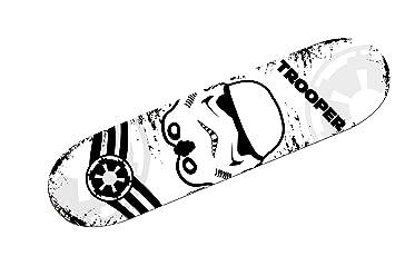 Star Wars Monopatín de 80 x 20 cm, Color Negro/Blanco (Mondo 28161) , Modelos/colores Surtidos, 1 Unidad