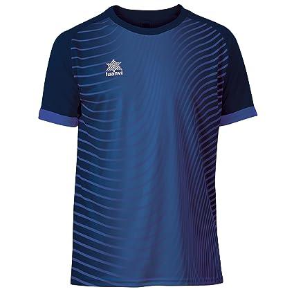 Luanvi Rio Camiseta de Fútbol, Unisex niños, Azul, XXXXS