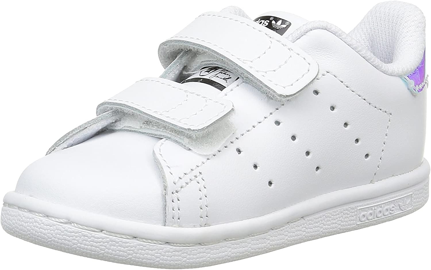 adidas Originals Stan Smith leather trainers in white and