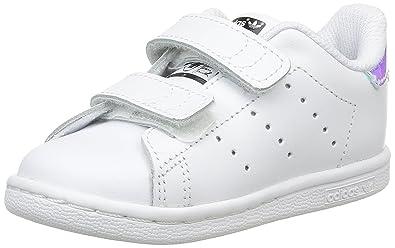 huge selection of 9b090 2370b Amazon.com   adidas Originals Stan Smith CF I White ...