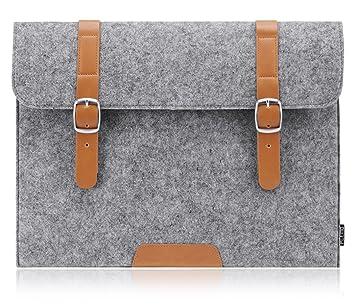 PLEMO Funda Bolso de Fieltro para Ordenador Portatil / Netbook / MacBook Air de 11-11,6 Pulgadas: Amazon.es: Electrónica
