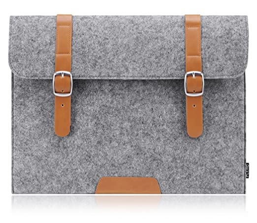 PLEMO Funda Bolso de Fieltro para Ordenador Portatil / Netbook / MacBook Air de 11-11,6 Pulgadas: Amazon.es: Electrónica