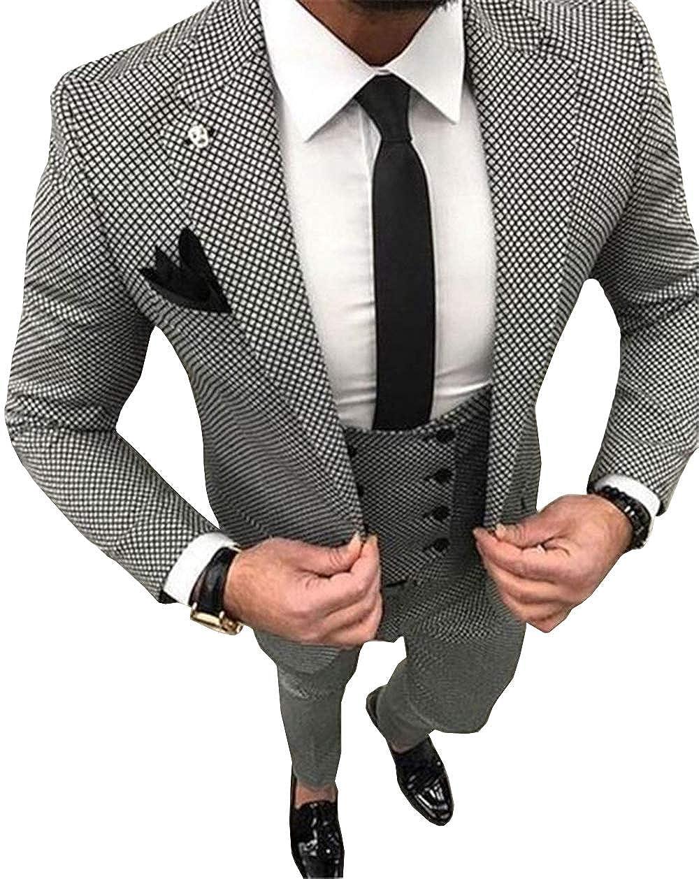 Solove-Suit - - Abito - - Uomo 38 BildColoreee c9d3d5. FB CLASS Abito Uomo  Sartoriale Completo Giacca Pantaloni Gilet Cravatta ... e4f331eb3cc
