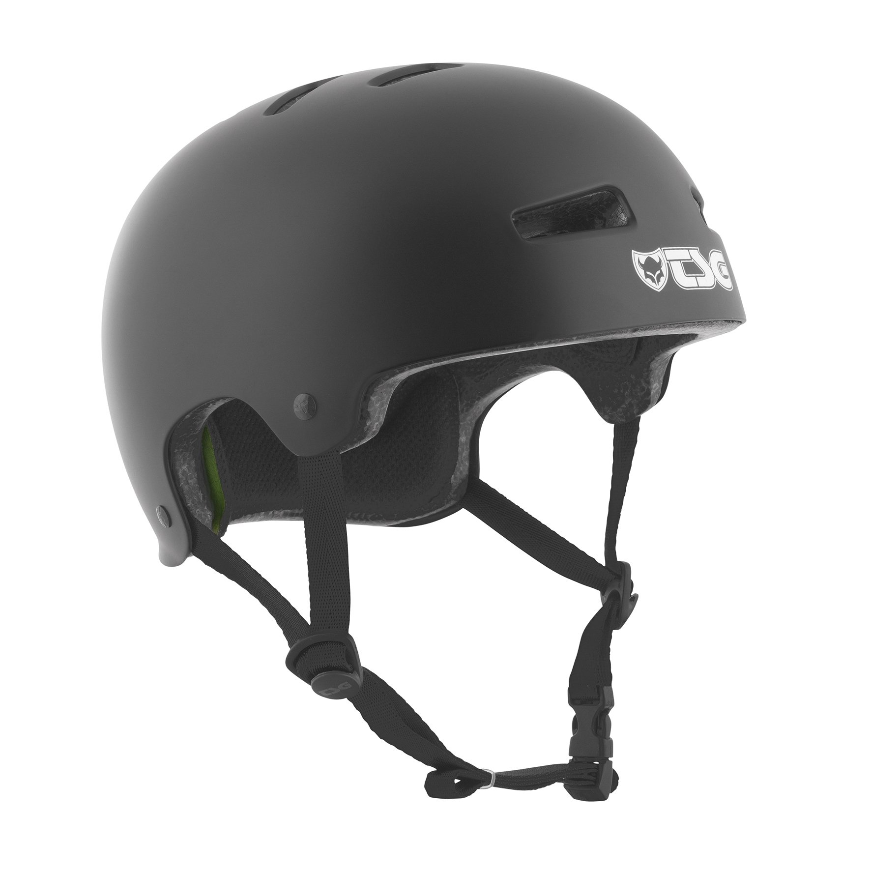 TSG Helmet Evolution Solid Color, Satin Black, S/M, 75046 by Tsg