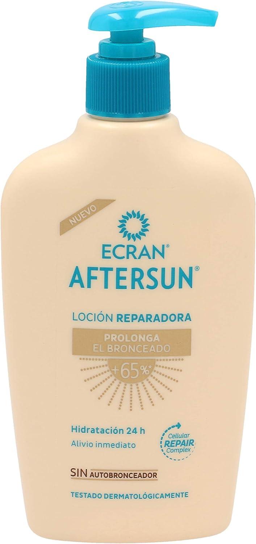 Ecran Aftersun, Leche Post-Solar Hidratante y Reparadora