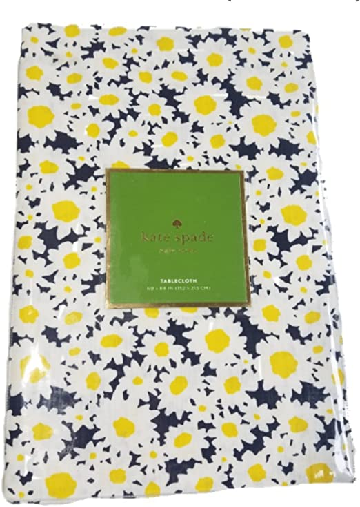 Kate Spade Dense Daisy Cotton In//Outdoor Tablecloth Placemats Napkins U Pick NEW