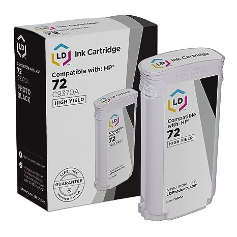 NEW HP #72 Photo Black Ink Cartridge C9370A GENUINE